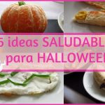 6 IDEAS para HALLOWEEN / 6 comidas SALUDABLES para halloween - Marianela COOKING