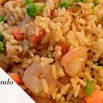 ARROZ CHINO con camarones receta - Complaciendo Paladares