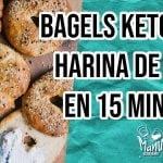 🥯 BAGELS KETO CON HARINA DE COCO EN 15 MINUTOS | KETO BAGELS WITH COCONUT FLOUR | Manu Echeverri  Mi receta de cocina