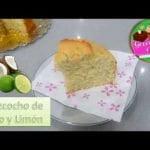 BIZCOCHO ESPONJOSO  DE COCO Y LIMÓN- Receta fácil-Georgiscake  Mi receta de cocina