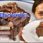 BROWNIE VEGANO / sin huevo/ sin gluten / sin lácteos. Mi receta de cocina