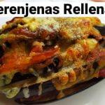 Berenjenas Rellenas | Receta Keto |Sin Gluten | Súper Facil | con Jamón y Queso  Mi receta de cocina