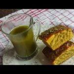Bizcocho con té Matcha verde Mi receta de cocina