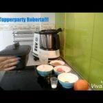 Bizcocho de naranja y canela con harina de arroz en ultra pro Tupperware. Mi receta de cocina