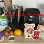 Bizcocho de té matcha fácil, rápido y sano- 1#Cocinando con Maria del Mar  Mi receta de cocina