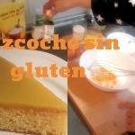 Bizcocho sin gluten con crema de naranja👌🏼/ mi primer vídeo🤭  Mi receta de cocina