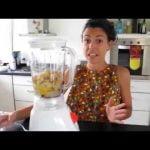 Budin de Licuadora, sabor Banana Mi receta de cocina