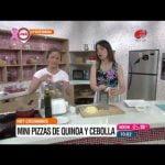 Buen día Uruguay - Mini pizzas de quínoa y cebolla 12 de Octubre de 2016 Mi receta de cocina