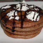 CHACHI-TARTA:  Pancakes al cacao (sin gluten)  Mi receta de cocina
