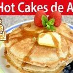 CÓMO HACER HOT CAKES DE AVENA SIN HARINA   OATMEAL PANCAKES   #VickyRecetaFacil  Mi receta de cocina
