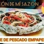 COMO HACER FILETE DE PESCADO EMPAPELADO AL VAPOR,  comida saludable #1 (Receta Tabasqueña)