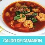 Caldo de Camarones receta SALUDABLE | Complaciendo Paladares