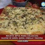 Calzone SIN GLUTEN / SIN TACC en Cocineros Argentinos 2011 - por Mónica Cortizas  Mi receta de cocina