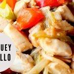 Chop suey de pollo receta de cocina fácil