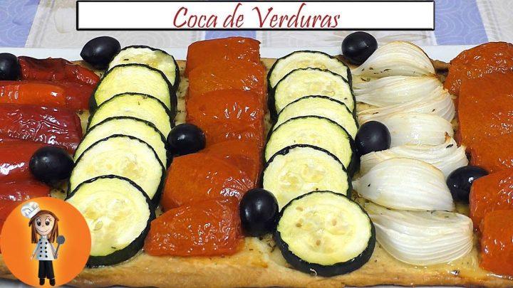 Coca de Verduras   Receta de Cocina en Familia