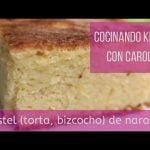 Cocinando Keto con Carol, Bizcocho (pastel, torta) keto de naranja sin azucar, baja en carbohidratos  Mi receta de cocina