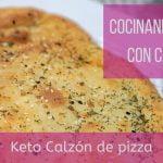 Cocinando Keto con Carol Calzón de pizza bajo en carbohidratos sin azucar y libre de gluten  Mi receta de cocina