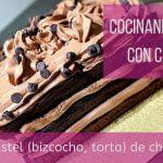 Cocinando Keto con Carol Pastel (bizcocho, torta) de chocolate bajo en carbohidratos sin azucar  Mi receta de cocina