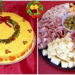 Como colocar los aperitivos frios en los platos para navidad y fin de año😳,ideas,aperitive