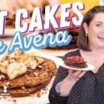 🥞Cómo hacer Hot Cakes de PLÁTANO CON AVENA (SIN GLUTEN) 🥞   Hasta La Cocina   Cocina Delirante  Mi receta de cocina