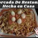 Cómo hacer Mazorcada De Restaurante En Casa. Recetas de cocina Fácil y rápido