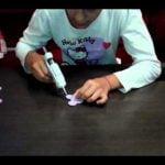 Como hacer una rosa con goma eva