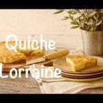 Cómo se hace una Quiche Lorraine