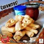 Cuernitos Súper fáciles y riquísimos!😋🔥sin gluten. Apto celiacos.  Sólo 2 ingredientes de base!👏👏👏  Mi receta de cocina