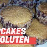Cupcakes SIN GLUTEN (Receta muy fácil de muffins gluten free) Mi receta de cocina