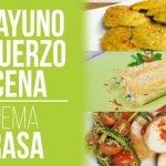 Desayuno hasta Cena I Día Completo Dieta Cetogenica I Baja la Barriga y Desinflama (Recetas)