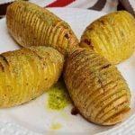 ESPECTACULARES Patatas hasselback, una receta muy facil y con un sabor ALUCINANTE