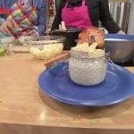 El postre favorito de Mauricio Barcelata: Tapioca piña-coco   Sale el Sol  Mi receta de cocina