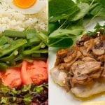 Ensalada de arroz - Merluza asada con champiñones - Cocina Abierta de Karlos Arguiñano