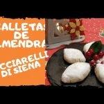 Galleta de almendra - Galletas de Navidad, Ricciarelli Siena  Mi receta de cocina