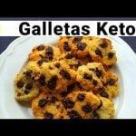 Galletas Keto Cetogenicas Sin Gluten   Galletas de chips de chocolate keto   Receta Cetogenica.  Mi receta de cocina