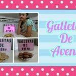 Galletas de avena y pasas | Postres en casa kids | quédate en casa #conmigo ,#yomequedoencasa.  Mi receta de cocina