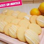 Galletas de limón FACILES sin manteca decoradas con glasé sin huevos  Mi receta de cocina