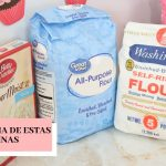 LA DIFERENCIA ENTRE HARINA TODO USO, HARINA CON ACTIVADOR Y HARINA DE CAJITA | BELKIS CAKES  Mi receta de cocina