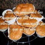 Magdalenas con plátanos  Mi receta de cocina