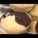 Magdalenas de dos colores - Eva Arguiñano  Mi receta de cocina