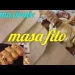 Masa filo casera y garantizada  💯/💯 para principiantes muy fácil de hacer baklava/cocina árabe  Mi receta de cocina