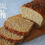 Pan Molde 100% INTEGRAL | sin huevo, sin lácteos y fácil | (VEG) AUXY  Mi receta de cocina
