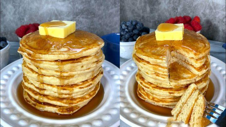Pancakes - Hot Cakes - Receta Fácil - Mi Cocina Rápida