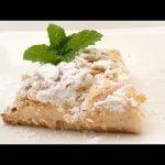 Pantxineta, pastel típico vasco de hojaldre, crema pastelera y almendras - Receta de Eva Arguiñano