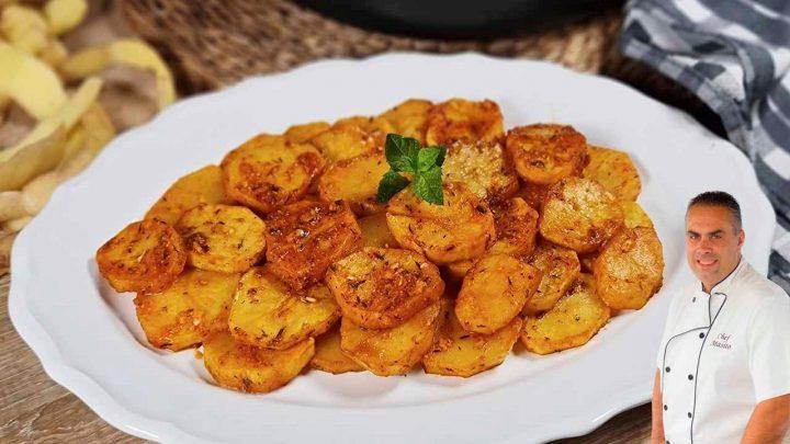 Patatas en adobillo, receta muy fácil y con un sabor maravilloso