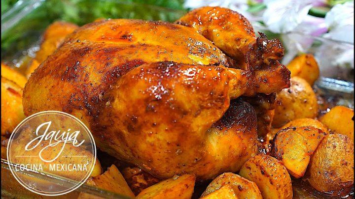 Pollo al Horno Doradito Por Fuera y Jugoso Por Dentro. Secretos y Tips
