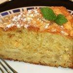 Receta Bizcocho de peras con almendras y yogur griego - Recetas de cocina, tutorial  Mi receta de cocina