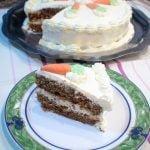 Receta Carrot Cake (Tarta de Zanahoria con crema de queso) - Recetas de cocina, tutorial  Mi receta de cocina
