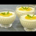 Receta: Mousse de melocotón en almíbar  Mi receta de cocina
