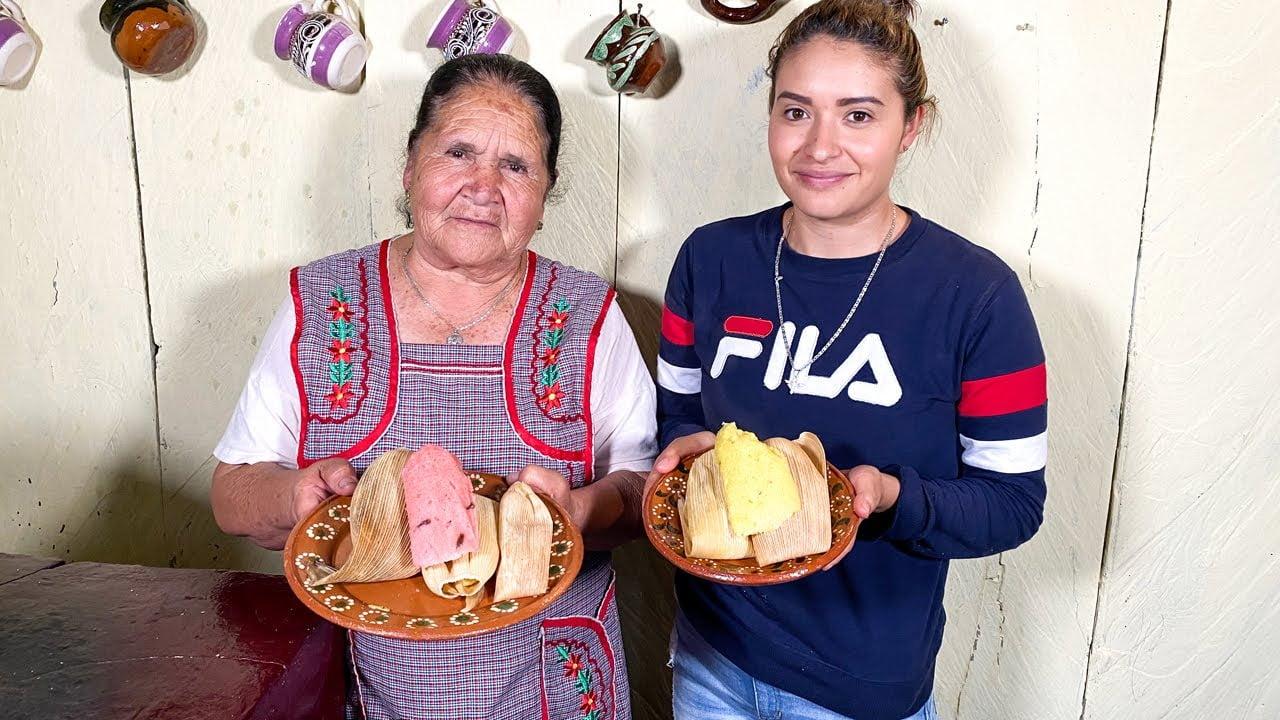Receta de Tamales Dulces De Mi Rancho A Tu Cocina